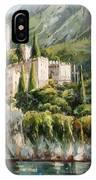Malcesine Castle, Lago Di Garda IPhone Case