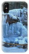 Maligne Canyon Frozen IPhone Case