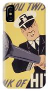 Marine Corps Recruiting Poster From World War IPhone Case