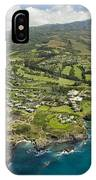 Maui Aerial Of Kapalua IPhone Case