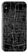 Memphis Tennessee Usa Dark Map IPhone Case