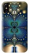 Metallic Butterfly IPhone Case