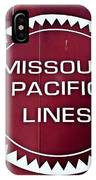 Missouri Pacific Lines IPhone Case