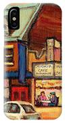Moishes Steakhouse On The Main IPhone Case