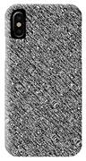 Monochromatic Abstract IPhone Case
