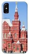 Moscow's State Historical Museum  IPhone Case