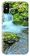 Mossy Moine Falls IPhone Case
