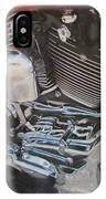 Motorcycle Close Up 1 IPhone Case