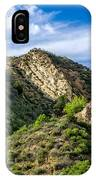 Mountains At Towsley Canyon In Southern California IPhone Case