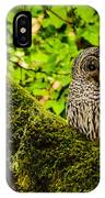 Muir Woods Owl IPhone Case