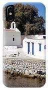 Mykonos Church IPhone Case