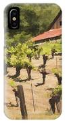 Napa Barn IPhone Case
