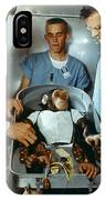 Nasa Chimpanzee, 1961 IPhone Case