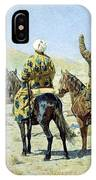 negotiators Surrender - Go to hell 1873 Vasily Vereshchagin IPhone Case