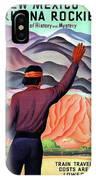 New Mexico And Arizona Rockies IPhone Case