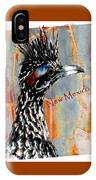 New Mexico Roadrunner IPhone Case