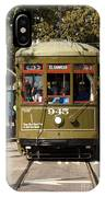 New Orleans Cable Car IPhone Case