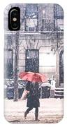 New York City Snow IPhone Case by Vivienne Gucwa