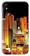 New York New York Hotel IPhone Case