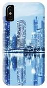 Night Scenes Of City IPhone Case