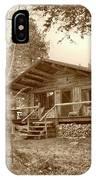 North Maine Cabin IPhone Case