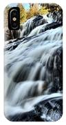 Northern Michigan Up Waterfalls Bond Falls IPhone Case