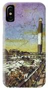Oak Island Lighthouse IPhone Case