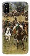 Oklahoma Land Rush, 1891 IPhone Case