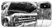 Old Abandoned Pickup Truck In The Snow IPhone Case