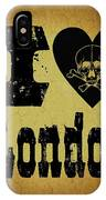 Old London IPhone Case