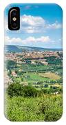 Old Town Of Orvieto, Umbria, Italy IPhone Case