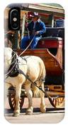 Old Tucson Stagecoach IPhone Case
