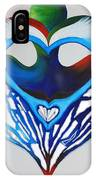 Open Heart IPhone Case