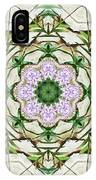 Orchids And Stone Wall Kaleidoscope 1764 IPhone Case