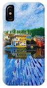 Original Abstract Painting On Canvas IPhone Case
