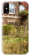 Overgrown Fall Garden IPhone Case