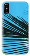 Palm Frond Silhouette IPhone Case