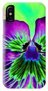 Pansy Power 84 IPhone Case