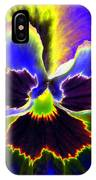 Pansy Power 87 IPhone Case