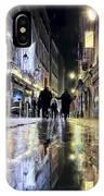 Paris In The Rain IPhone Case