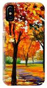 Park By The River IPhone Case