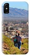 Path Around A Mountain IPhone Case