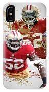 Patrick Willis 49ers IPhone Case