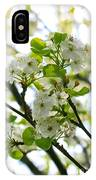 Pear Tree Blossoms IPhone Case