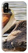 Pelican Catching A Fish IPhone Case