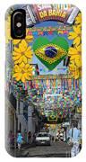 Pelourinho - The Historic Center Of Salvador IPhone Case