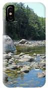 Pemmigewasset River IPhone Case