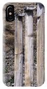 Pergamon Asklepion Colonnade IPhone Case
