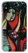 Picasso's Girl Beside A Mirror IPhone Case