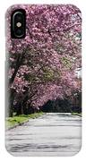 Pink Blooming Trees IPhone X Case